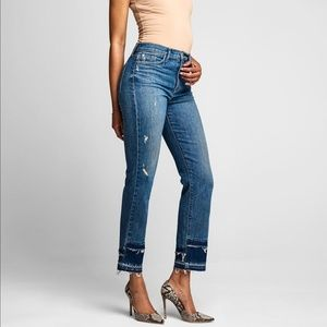 HUDSON ZOOEY High Rise Straight Jeans | 11213